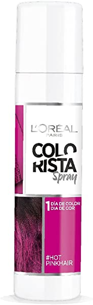 Spray de color para cabello 1 día Rosa Intenso Colorista L'Oréal Paris