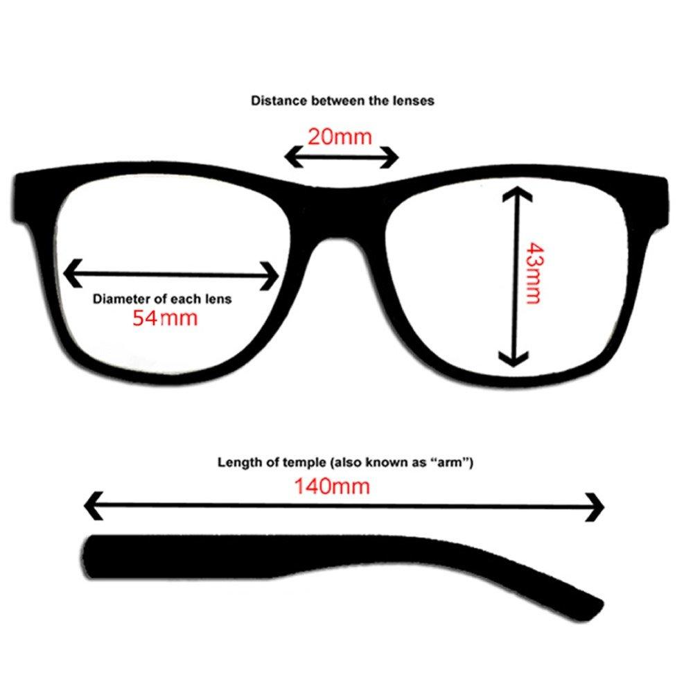 Occhiali da Sole Stile Classico UV400 RetroUV/®