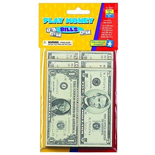 Educational Insights Play Money - Bills