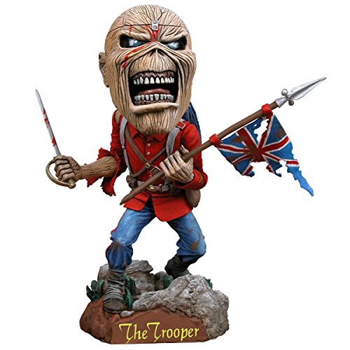Iron Maiden Collectible: 2011 NECA Eddie Trooper Head Knocker Bobble Head (Tour Iron Head)