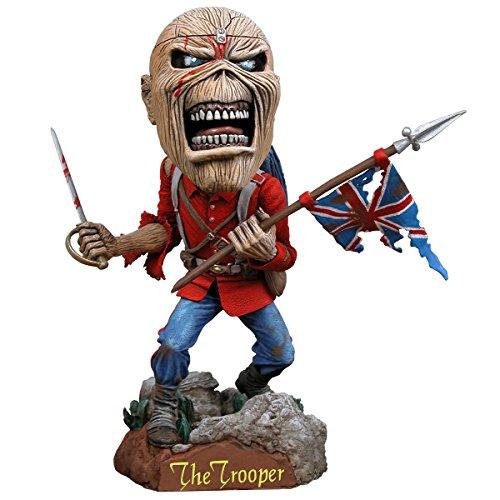 Iron Maiden Collectible: 2011 NECA Eddie Trooper Head Knocker Bobble Head Figure