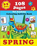 Spring, Alex Fonteyn, Creative Activities, Drawing and Painting, Educational Workbook, 1623210550