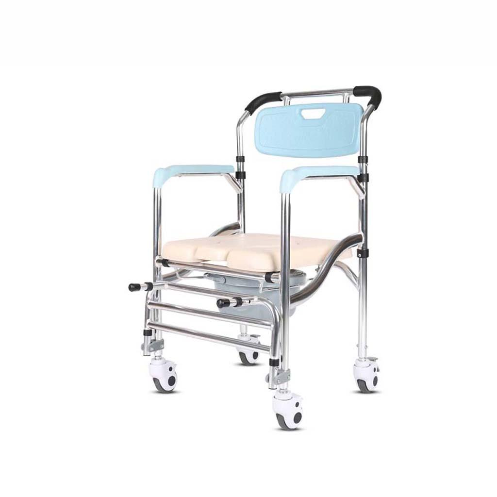 Mariny 妊娠中の女性のトイレスツールに座ってトイレベルトプーリー70 * 50 * 90センチメートルと折り畳み式椅子をCommode B07DXQDK2K