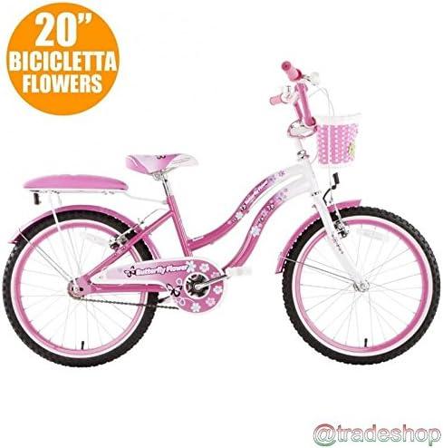Bicicleta para niña 20 Modelo BUTTERFLY FLOWER bicicleta para ...