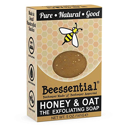 (Beessential Refreshing Peppermint Soap, Honey And Oat, 5 Ounce)