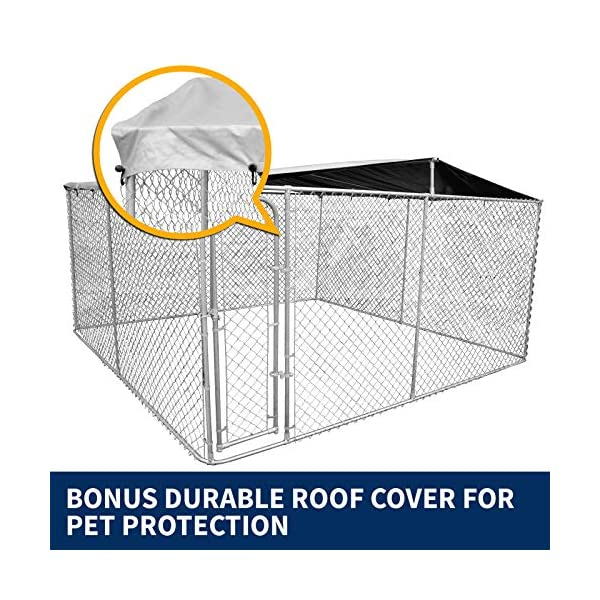 New Pet Dog Kennel Enclosure Playpen Puppy Run Exercise Fence Cage Play Pen A3 Click on image for further info. 5