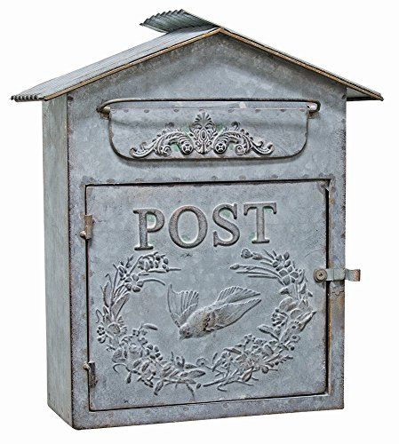 CWI Gifts Birdhouse Mail Box, 12 1/2″ X 14 1/2″ x 4″ Review