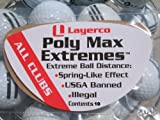 Poly Max Extremes Extra Golf Driving Distance package of 10