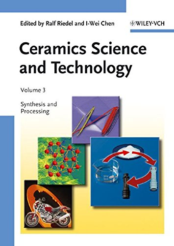 Price comparison product image Ceramics Science and Technology,  Synthesis and Processing (Volume 3)