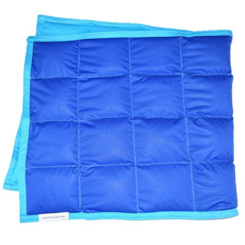 Cheap SensaCalm Waterproof Weighted Wrap Royal Blue with Turquoise Size 18