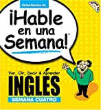 Hable Ingles en una Semana 4, Penton Overseas, Inc. Staff, 1591255503