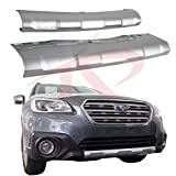 subaru bumper guard - Fit for Subaru Outback 2015-2017 ABS Plastic Front Rear Bumper Board Skid Plate Bar Guard