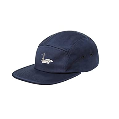 Amazon Origami Pelican 5 Panel Camper Hat In Navy Clothing