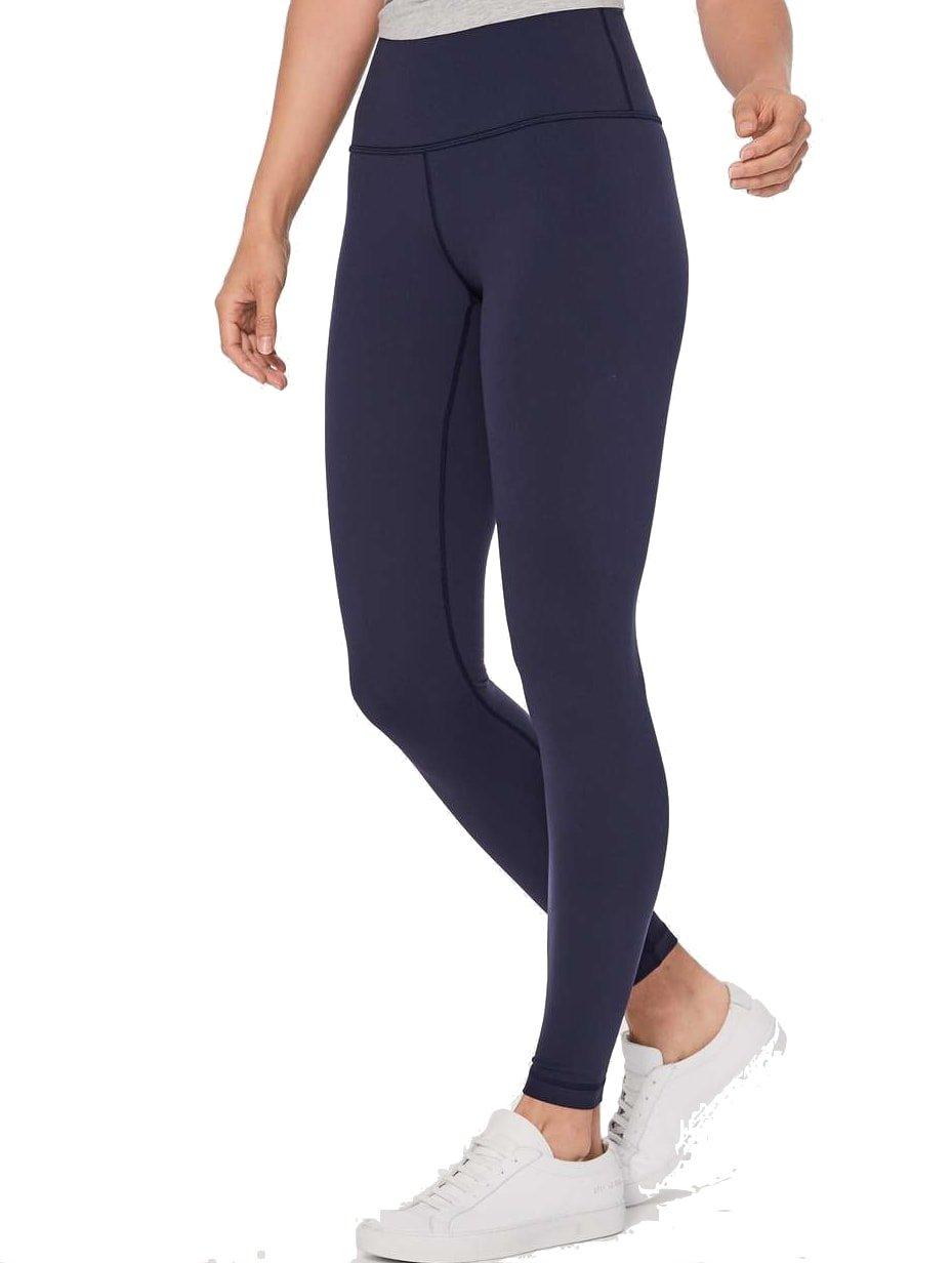 Lululemon Wunder Under Yoga Pants Super High Rise (Navy Blue, 2)