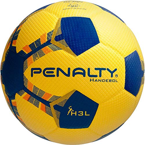 Bola Handebol Penalty H3L Pvc Sem Costura (Amarelo)