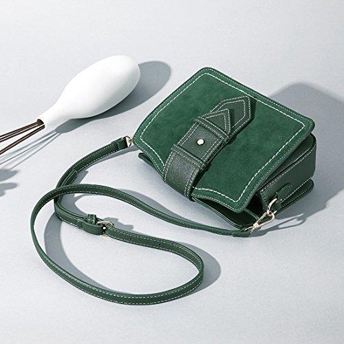 bolso Sintético Minotta Mujer elegante MinottaUKD6008 Verde mano de de a5RqT