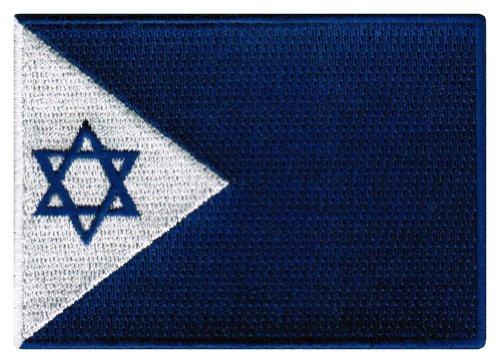 Israel Navy Jack Patch Israeli Military Flag Embroidered Iro
