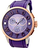 MULCO Purple Chronograph MWatch 3D Collection MW3-10303-053, Watch Central