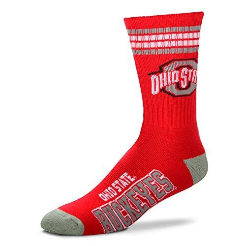 For Bare Feet Mens NCAA 4 Stripe...