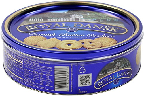 (Royal Dansk Danish Cookie Selection, No Preservatives or Coloring Added, 12 Ounce)