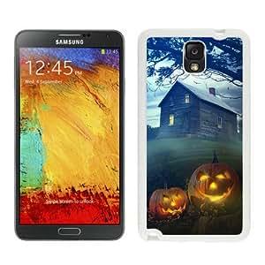Best Buy Halloween White Samsung Galaxy Note 3 Case 6