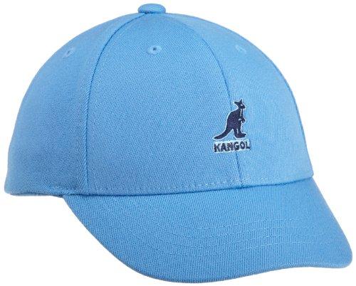 (Kangol Little Boys' Wool Flexfit Baseball Hat, Cobalt, Medium/Large)