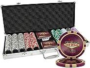 500 Ct Las Vegas 14 gram Poker Chip Set Aluminum Case Custom Build