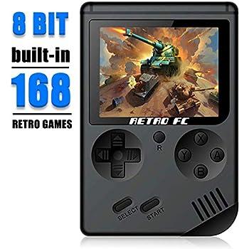 Amazon com: Retro Video Game Console Gameboy, Mini Handheld