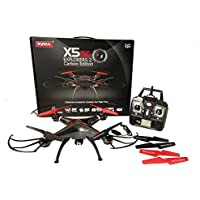TM USA Syma X5SC-CE Carbon Upgraded Version RC Quadcopter Drone 2MP HD Camera 2 Batteries