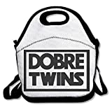 DFVBRF HDB Dobre Twins Lunch Tote Insulated Reusable Lunch Box Picnic Lunch Bags For Men Women Adults Kids