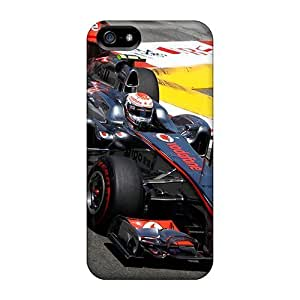 Anti-scratch And Shatterproof Jenson Button Phone Case For Iphone 5/5s/ High Quality Tpu Case