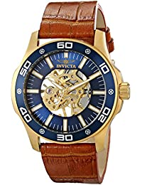 Mens 17260SYB Specialty Analog Display Mechanical Hand Wind Brown Watch