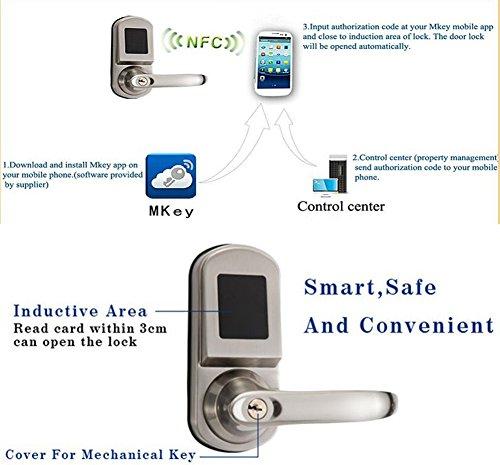 Samrt Lock Control Universial Deadbolt Electronic NFC Sticker