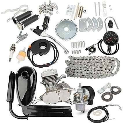 NICOLIE Actualizado 80Cc 2 Tiempos Motorizada Motor De Motores De ...