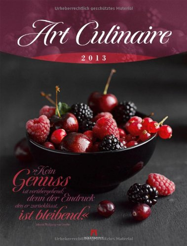 Art Culinaire 2013