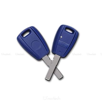 Carcasa de llave Fiat Punto, Stilo, Doblò, 500, 600, Bravo, Brava, Marea, Idea, hoja plana