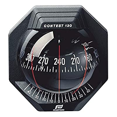 Image of Boat Compasses Plastimo Contest 130 Compass Black, Red