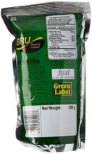 Brooke Bond Green Label Bru Coffee - 200 gms - Import It All