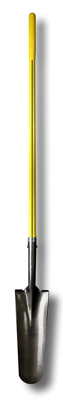 Nupla SSDS16L-E Ergo Power Sharp Shooters Drain Spade, 16 Solid Shank Blade, Ergo Grip, 14 Gauge, 48 Long Handle