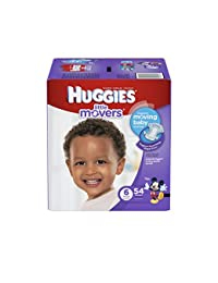 HUGGIES Little Movers Diapers, Size 6, 54 Count (Packaging May Vary) BOBEBE Online Baby Store From New York to Miami and Los Angeles