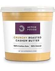 BULK POWDERS 1 kg Roasted Cashew Butter Crunchy Tub