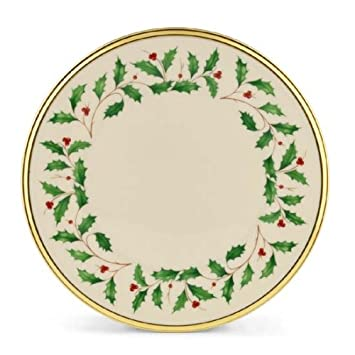 Amazon.com: Lenox Holiday Salad Plate: Holiday Lenox China ...