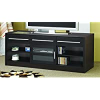 Coaster Home Furnishings 700650 Contemporary TV Console, Cappuccino