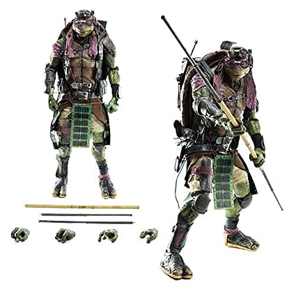 ThreeZero Teenage Mutant Ninja Turtles Movie Donatello Action Figure