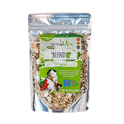 Blend 11 - Low FODMAP Certified/IBS Relief Cereal - goodMix Superfoods - 8.5 oz resealable pack