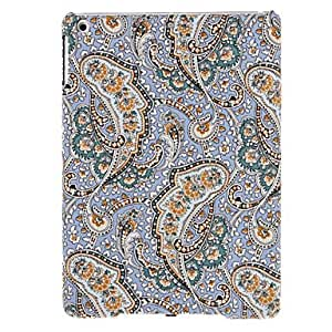 Purchase Special Flowers and Leaves Pattern Textile Hard Case for iPad Air (Assorted Colors) , Purple