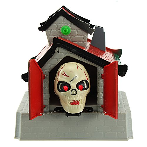 Allhallows Eve Yell Wraith - Halloween Decoration Terror Ghost Electric Shout Kidding Toy - Holler Haunt Cry Ghostwriter Blackguard Trace Spectre Vociferation Call Squall Obsess - 1PCs