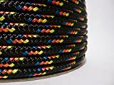 1/4'' x 150 ft. Double Braid Yacht Braid Polyester Sailboat Rigging Nautical Rope Spool. Valley Rope.