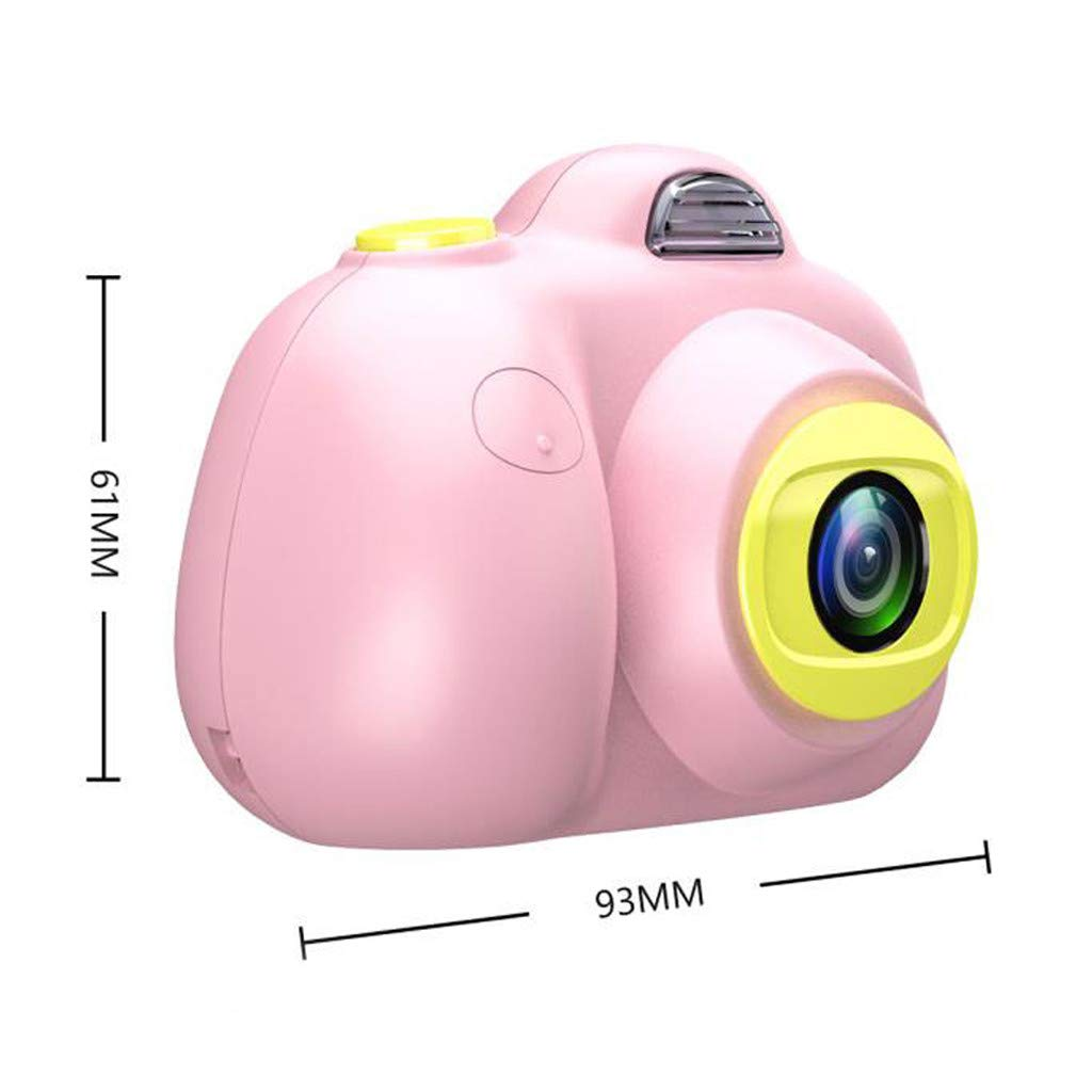 Kids Compact Camera Toys Witspace 8MP HD Video Camera Gifts Front/Rear Cameras Battery Powered for Aged 3-10 (Pink) by Witspace-Toys and Games (Image #5)