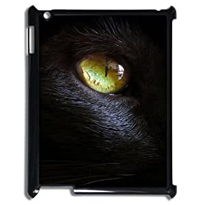 Black Cat Personalized Case for Ipad 2,3,4, Customized Black Cat Case by mcsharks